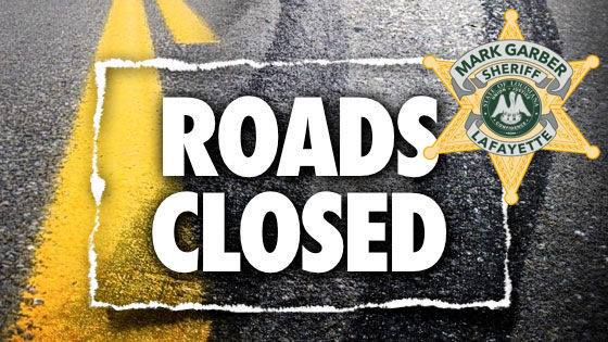 Lafayette Parish Road Closures and Sand Bag Locations